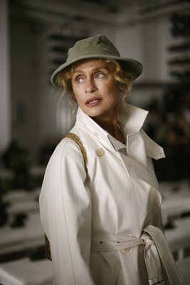 Lauren Hutton @ Calvin Klein. Image courtesy of th enew release The Sartorialist.