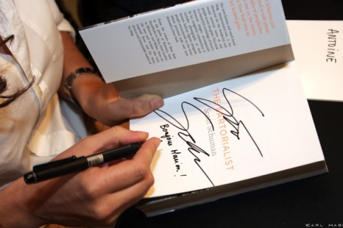 photo of Scott's booksigning at Collette, Paris